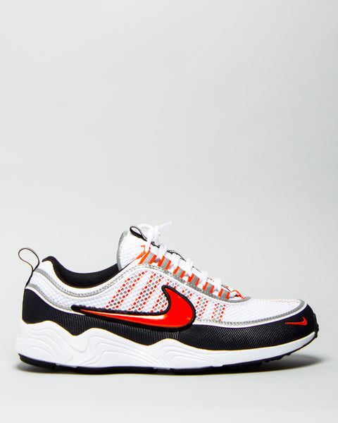 Air Zoom Spiridon '16 White/Black/Metallic Silver/Team Orange
