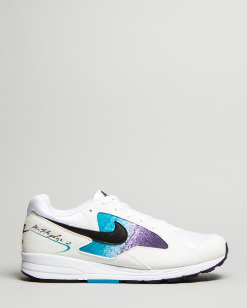 Air Skylon II White/Black/Blue Lagoon Nike Mens Sneakers Seattle