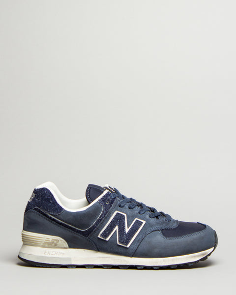 INVINCIBLE ML574INV Classic Blue New Balance Mens Sneakers Seattle