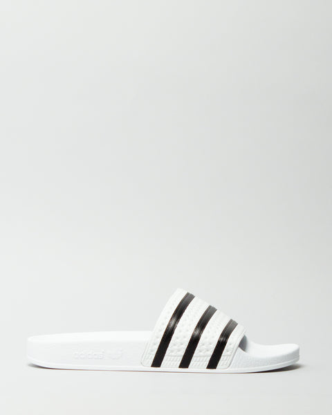 Adilette White/Black/White Adidas Mens Sneakers Seattle