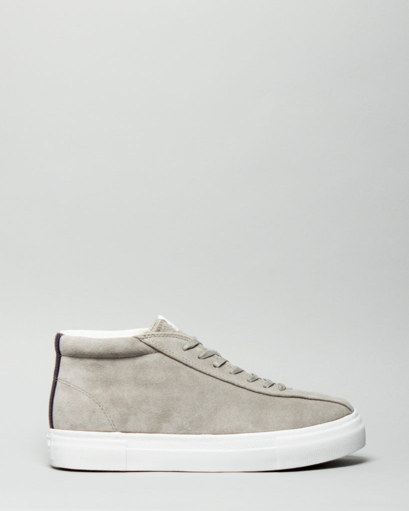 Mother Mid Suede Cement