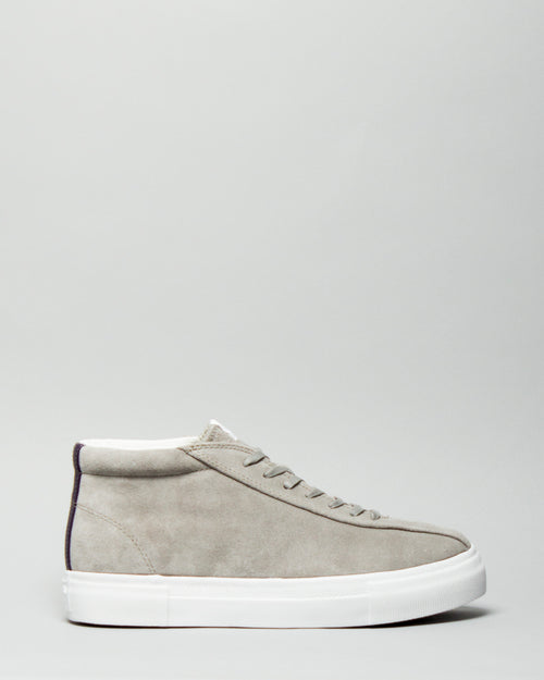 Mother Mid Suede Cement 1