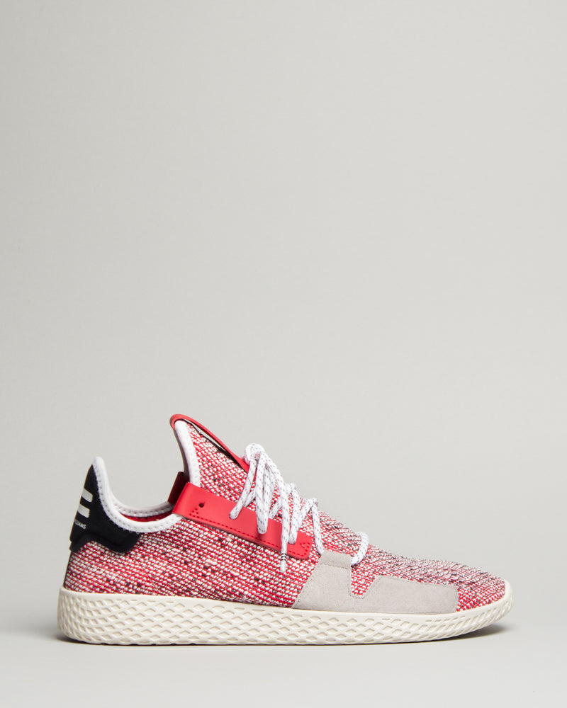 Pharrell Williams Solar Tennis HU V2 Scarlet/Cloud White/Core Black