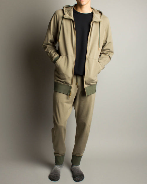 Oyster XBYO Sweatpants Trace Olive 1