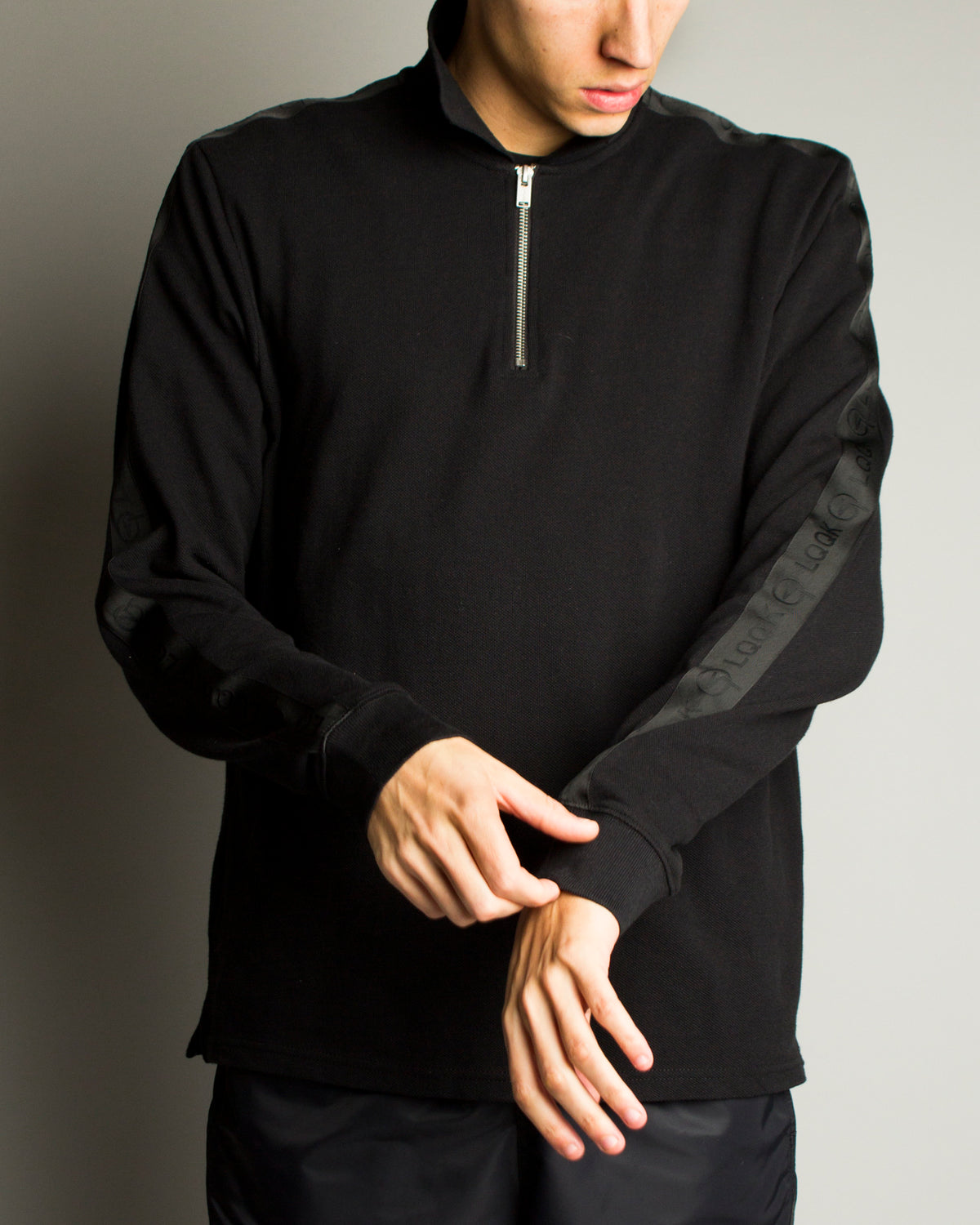 LQQK Studio LS Polo Black
