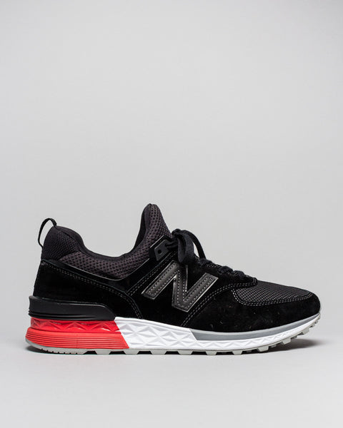 MS574AB Black New Balance Mens Sneakers Seattle