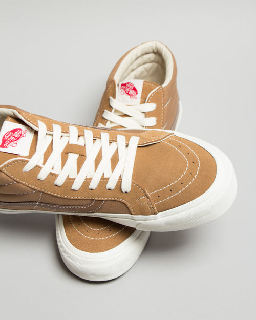 OG SK8-Mid LX (Suede/Canvas) Tobacco/White 2