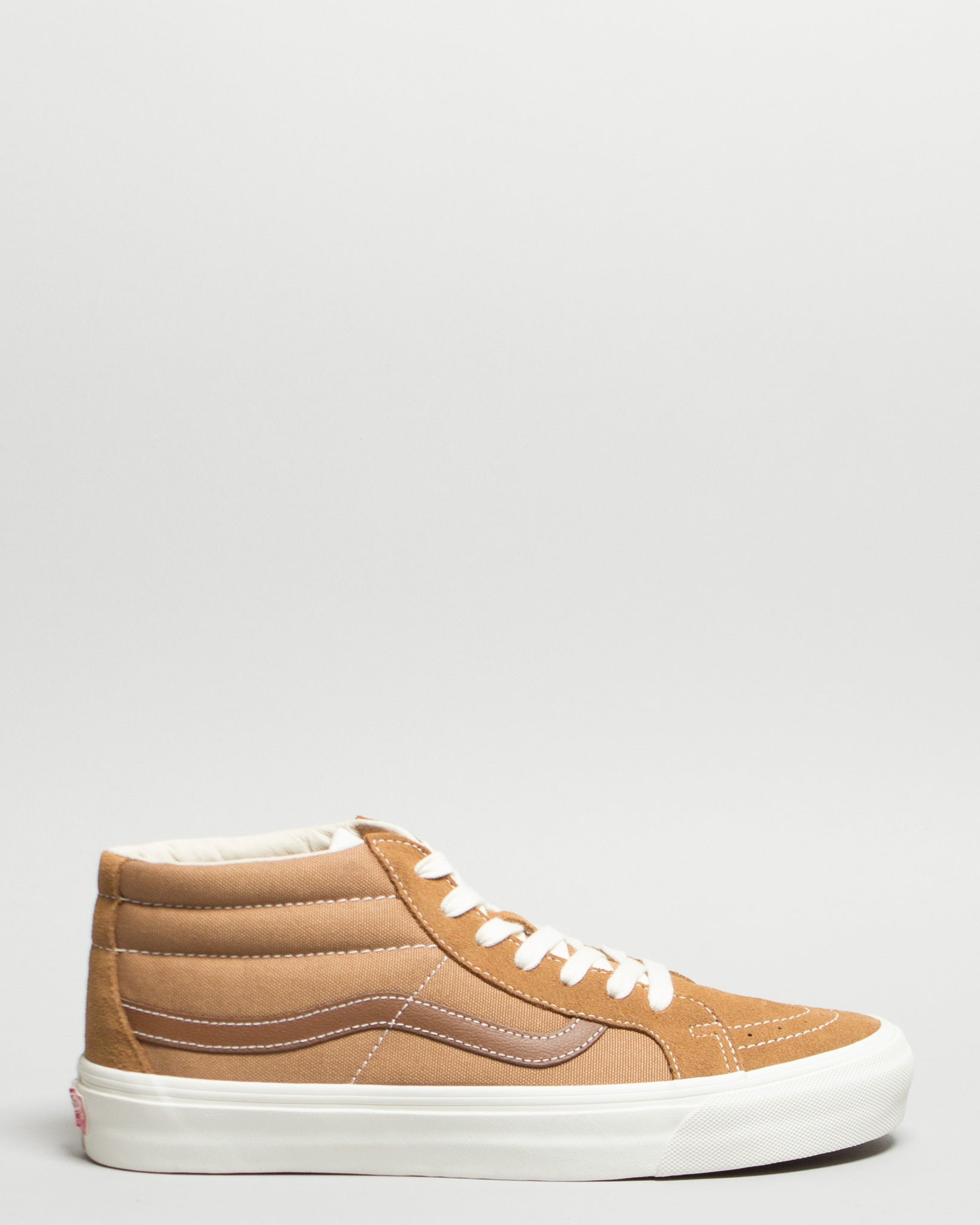OG SK8-Mid LX (Suede/Canvas) Tobacco/White