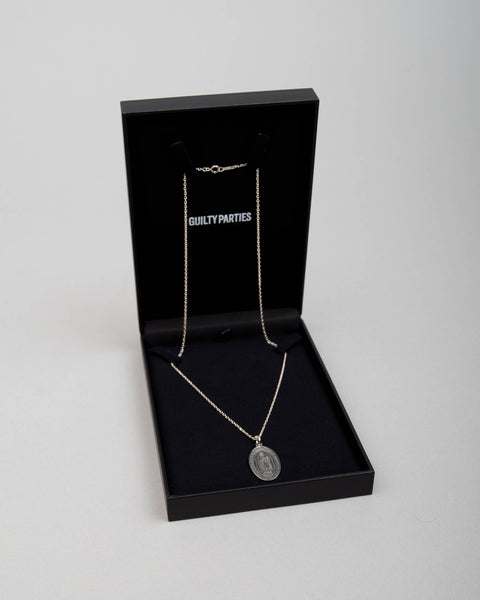 Medal Necklace (Type-1) Silver