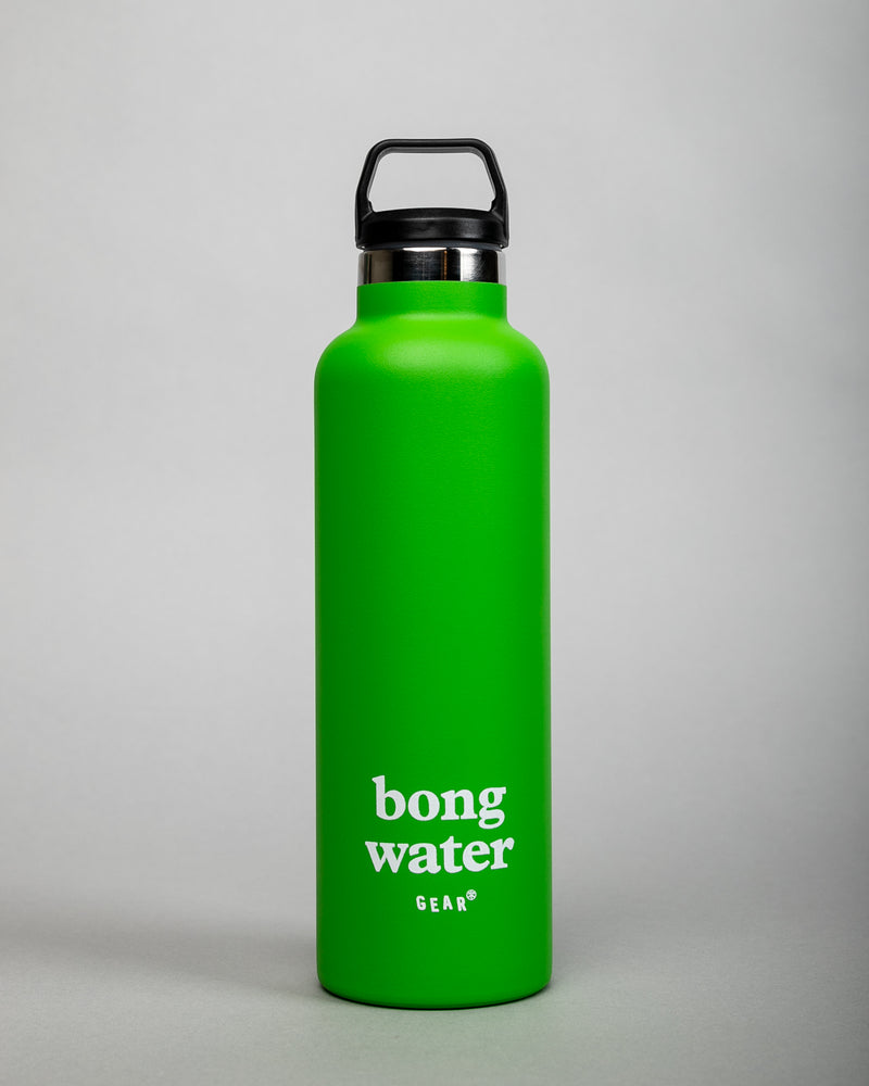 Bong Water Thermos Green