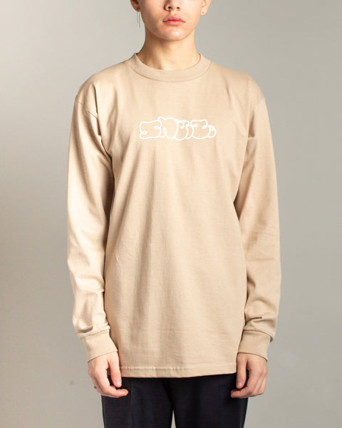 Logo LS Tee Sand Sneeze Mens Sneakers Seattle