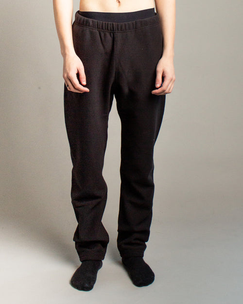 Elastic Cuff Pants Black 1