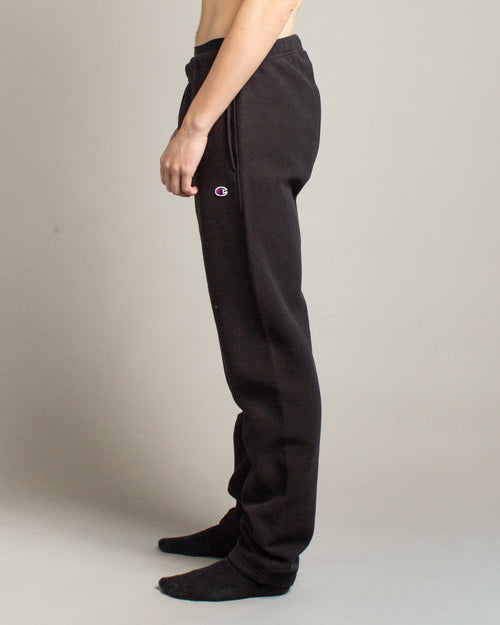Elastic Cuff Pants Black 2