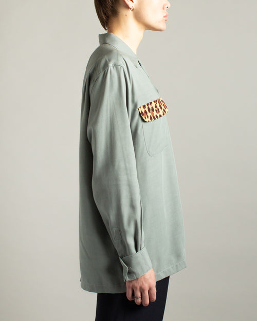 50's Shirt (TYPE-4) Grey 2