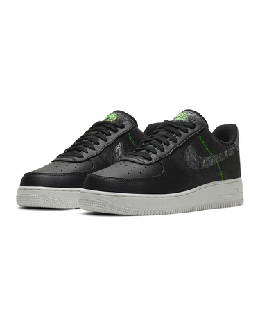 Air Force 1 '07 LV8 Black/Clear/Electric Green 2