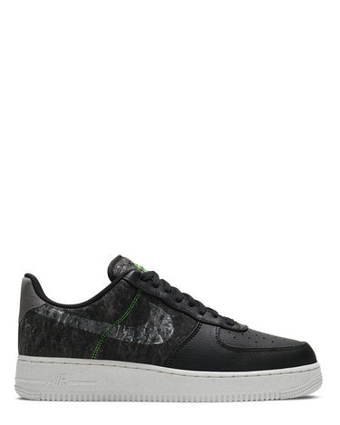 Air Force 1 '07 LV8 Black/Clear/Electric Green 1