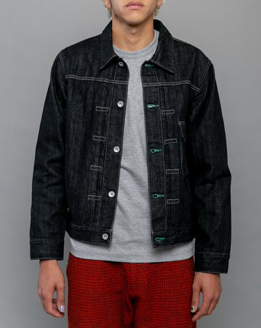 Stockman Type-A Denim Jacket Black 1
