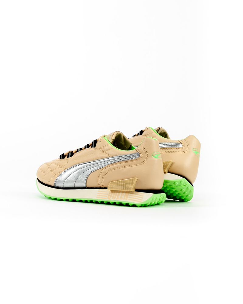 Mile Rider Queen Natural Vachetta/Puma Silver