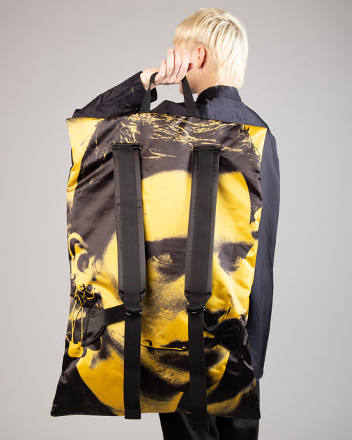 Raf Simons Poster Backpack Bl Sat Boy Y 1