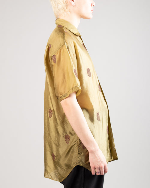 Men's Shirt Khaki 2