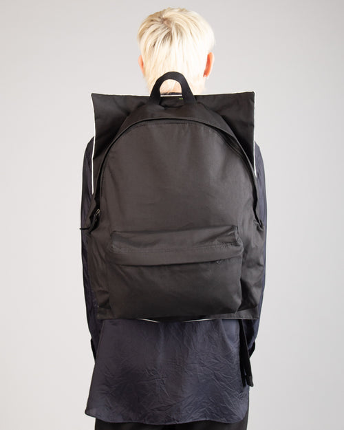Raf Simons Poster Backpack Bl Cot Punk W 2