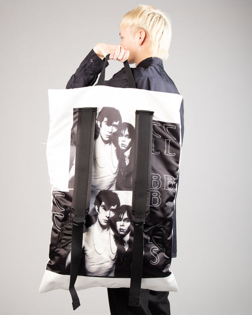 Raf Simons Poster Backpack Bl Sat Couple W 1