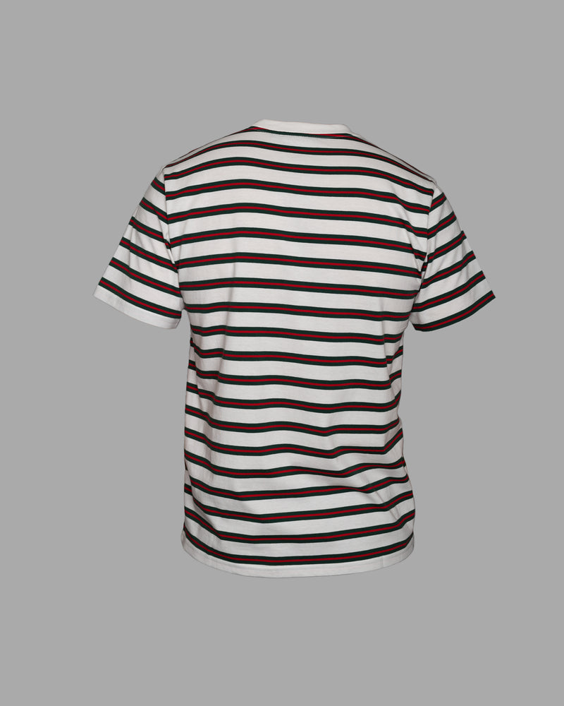 S/S Oakland T-Shirt Kent Stripe/Wax
