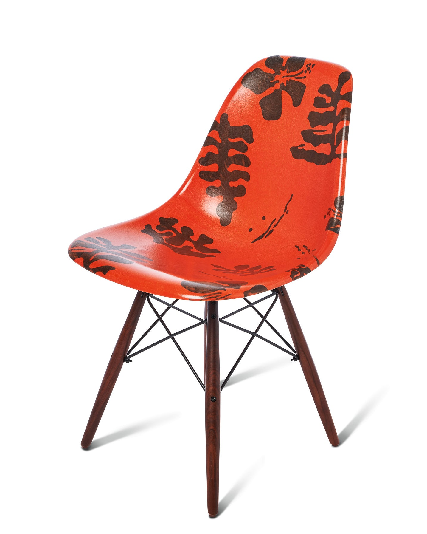 Modernica Shell Chair Leather Brown/Hawaii