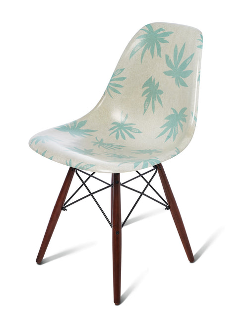 Modernica Shell Chair Seed Pearl/Palm Leaf 1