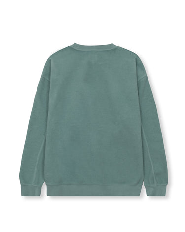 Reverse Fleece Crewneck Sweatshirt Mint 2