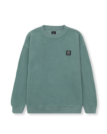 Reverse Fleece Crewneck Sweatshirt Mint 1
