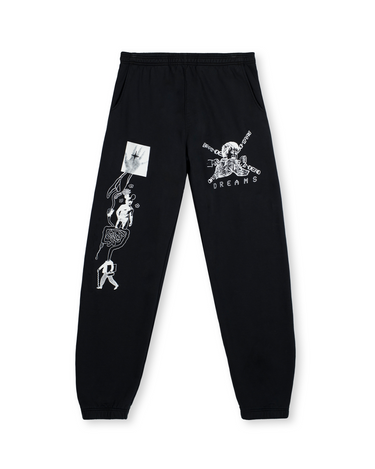 Dreams Sweatpant Black 1