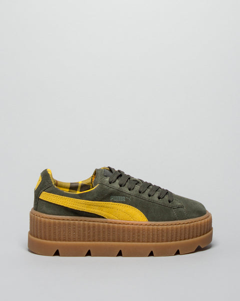 Cleated Creeper Suede WMNS Rosin/Lemon Puma x Fenty Mens Sneakers Seattle