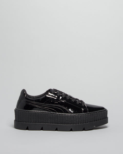 Pointy Creeper Patent WMNS Puma Black Puma x Fenty Mens Sneakers Seattle