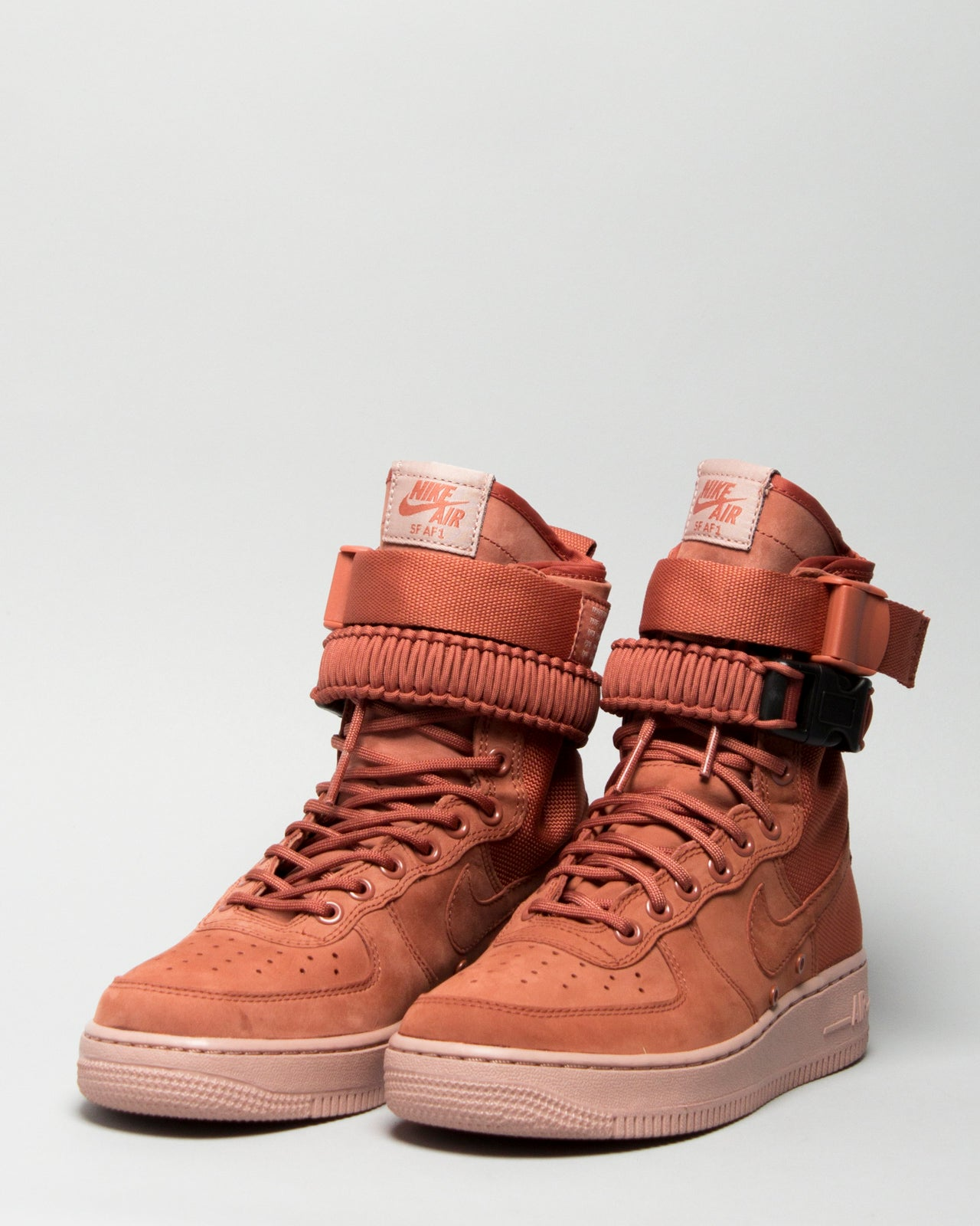 W SF AF1 Dusty Peach/Dusty Peach
