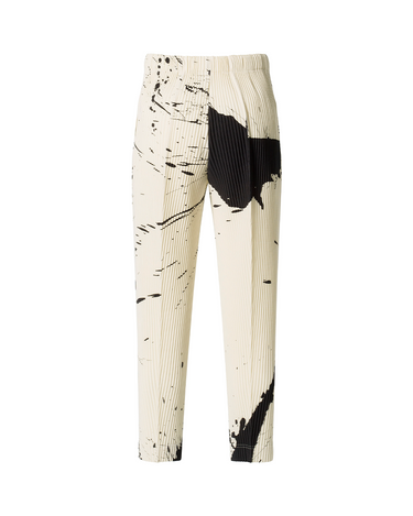 Splash Trousers White/Black 2