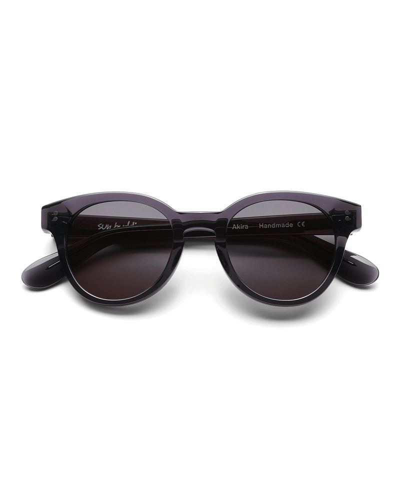Akira Sunglasses Transparent Grey