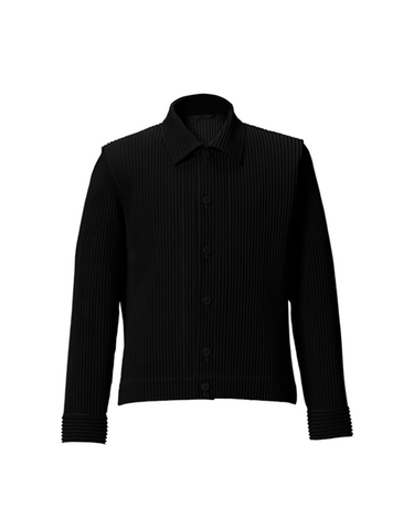 Tailored Pleats Jacket Black 1
