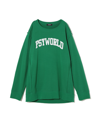 UC1A4805 LS T-Shirt Green 1