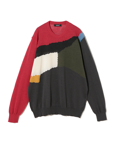 UC1A4912-4 Sweater Red Base 1