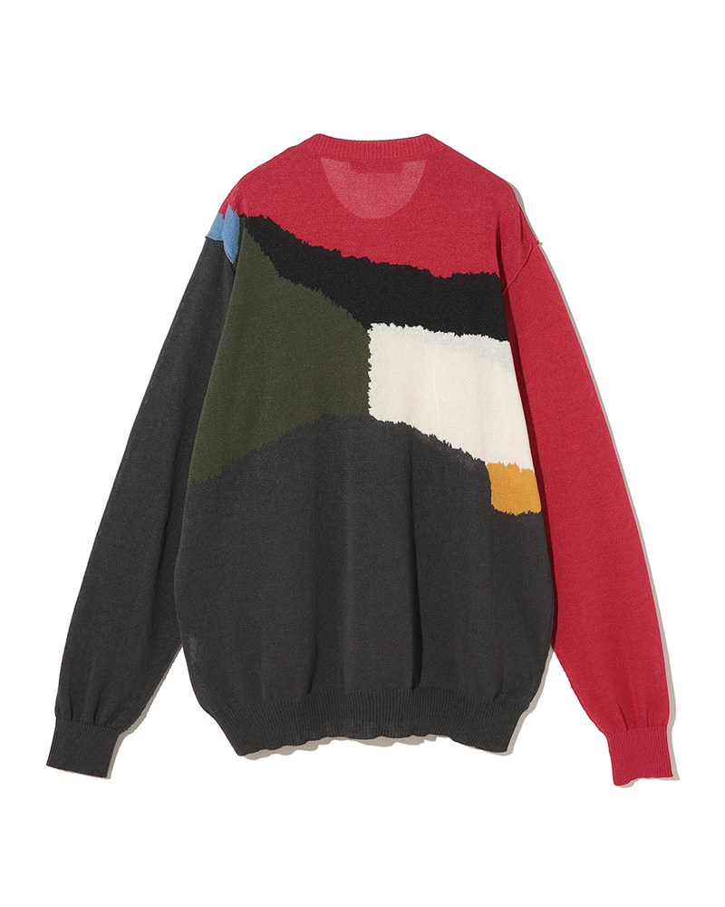 UC1A4912-4 Sweater Red Base