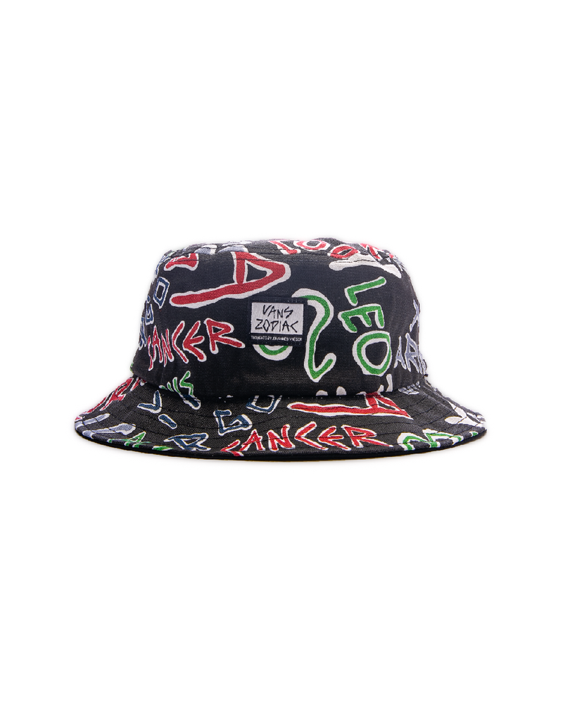 Zodiac Bucket Hat Black