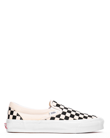 OG Classic Slip-On LX (Canvas) Black/White Checkerboard 1