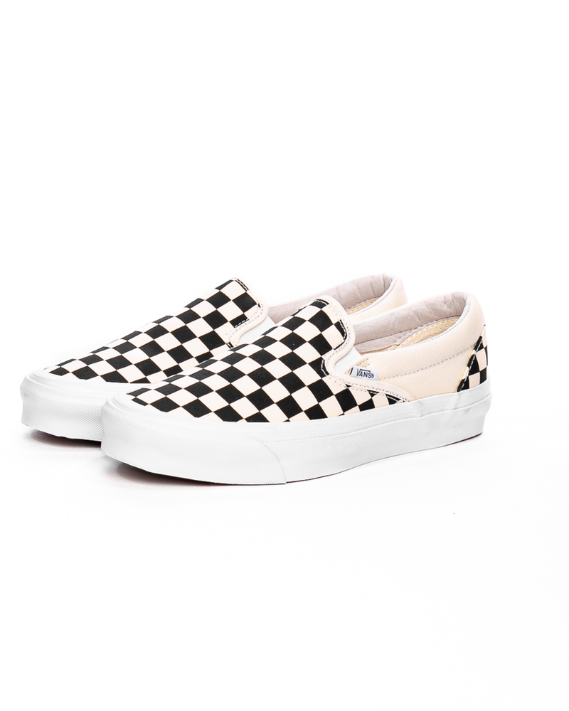 OG Classic Slip-On LX (Canvas) Black/White Checkerboard