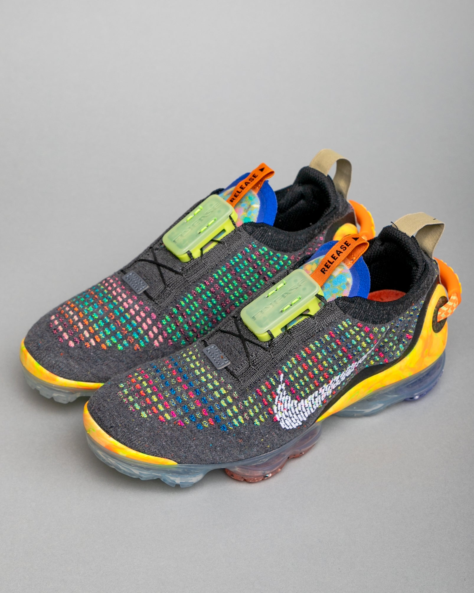 W Air Vapormax 2020 FK Iron Grey/White/Multi Color