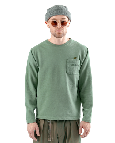 Light-P Crewneck Sweatshirt Green 1