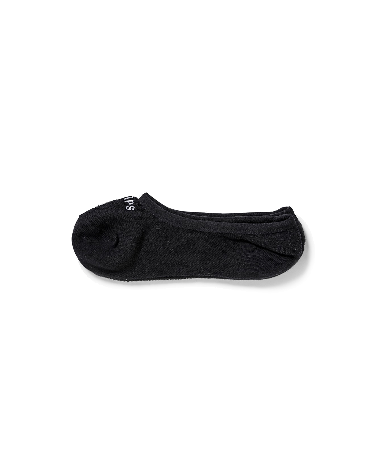 Skivvies No Show 3-Pack Socks Black