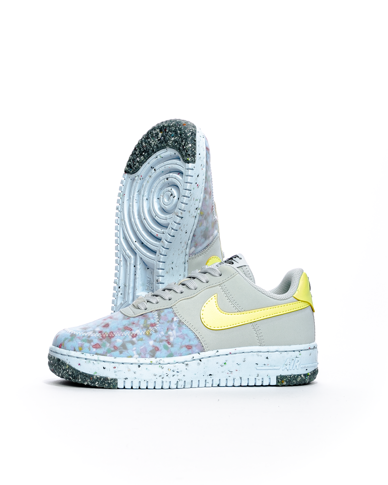 Air Force 1 Crater Pure Platinum/Barely Volt/Summit White