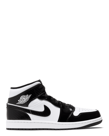 Air Jordan 1 Mid SE Black/White (GS) 1