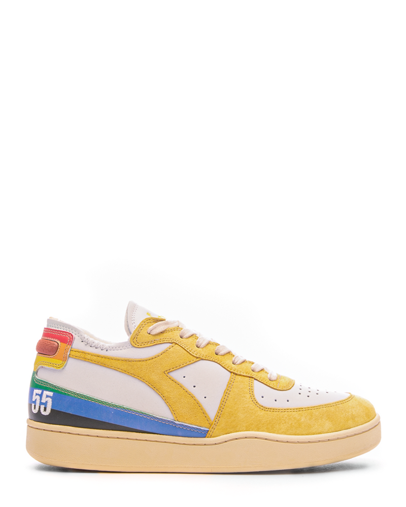 Mi Basket Row Cute Denver 55 White/Yellow